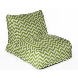 Chevron Bean Bag Lounger by OC Fun Saks