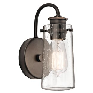 Affordable Pullin 1 Light Wall Sconce By Breakwater Bay