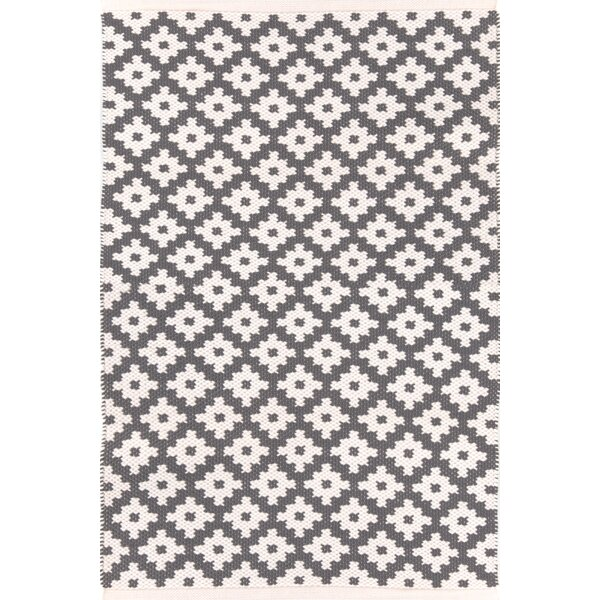 Samode Hand-Woven Gray/White Indoor/Outdoor Area Rug by Dash and Albert Rugs