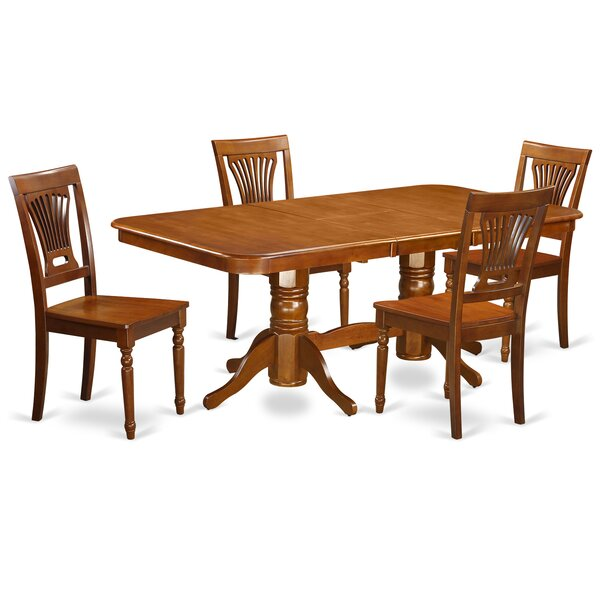 Pillsbury 5 Piece Extendable Dining Set by August Grove