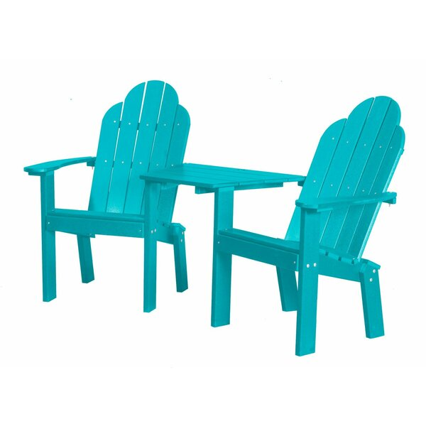 Sawyerville 2 Piece Plastic Adirondack Chair Set by Laurel Foundry Modern Farmhouse