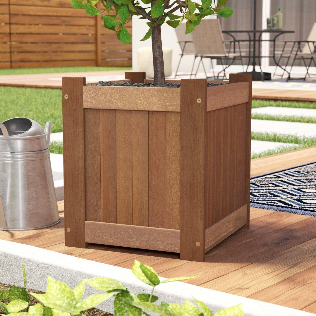 Ramsel Wood Planter Box