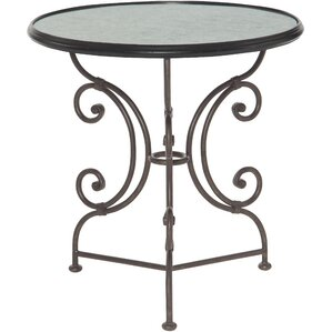 Amalthea Mirrored Side Table by Bernhardt