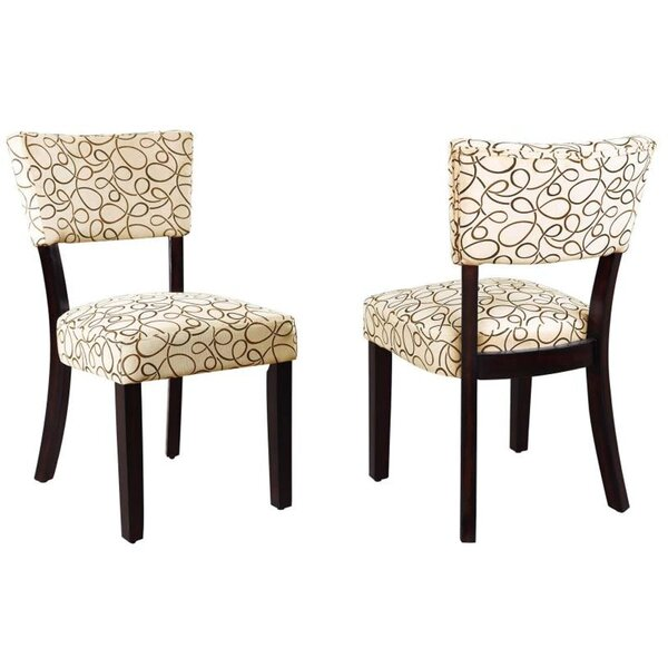 Brussels Upholstered Dining Chair by Latitude Run