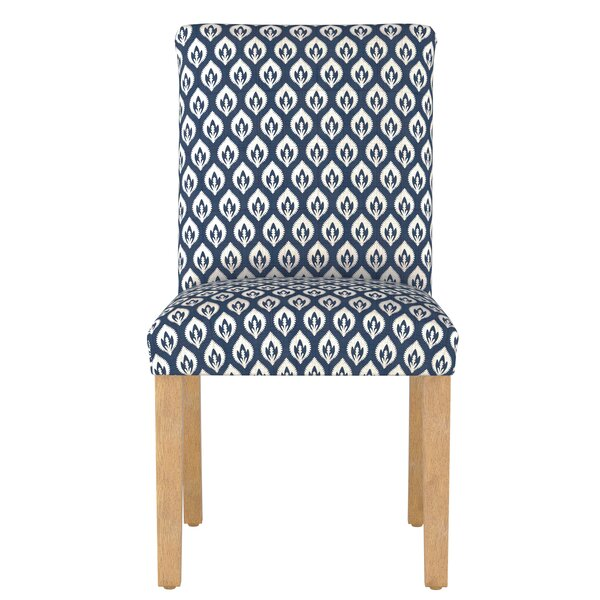 Ali Floral Upholstered Dining Chair by Bungalow Rose