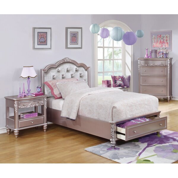 Erwann Upholstered Platform Bed by Harriet Bee