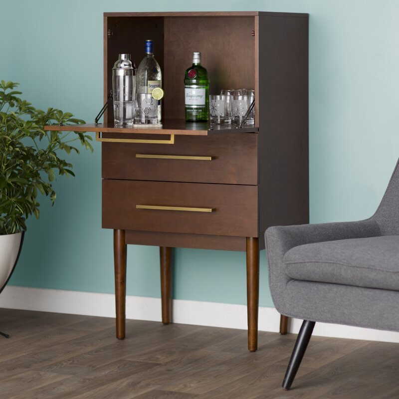 Gardner bar with wine storage reviews allmodern for Gardner storage