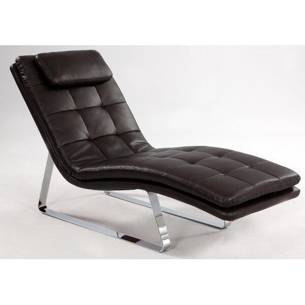 Corvette Chaise Lounge by Chintaly Imports