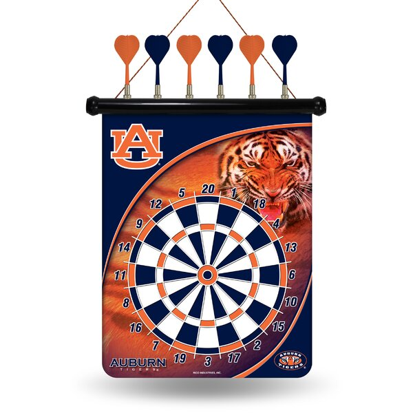 NCAA Magnetic Dartbaord Set by Rico Industries Inc