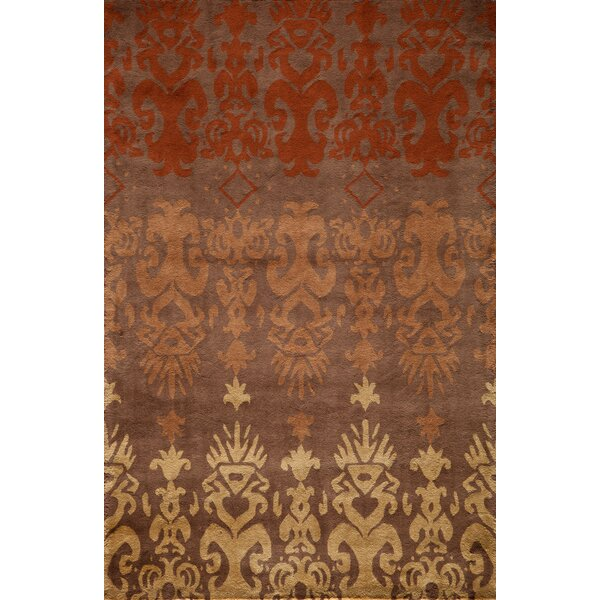 Elvera Hand-Tufted Brown Area Rug by World Menagerie