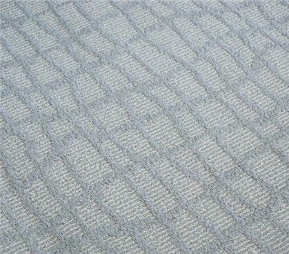 Alexios Crosshatch Gray Area Rug by Wrought Studio