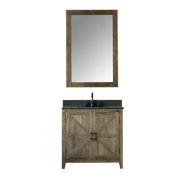 Alamo 36 Single Bathroom Vanity Set with Mirror by Laurel Foundry Modern FarmhouseAlamo 36 Single Bathroom Vanity Set with Mirror by Laurel Foundry Modern Farmhouse