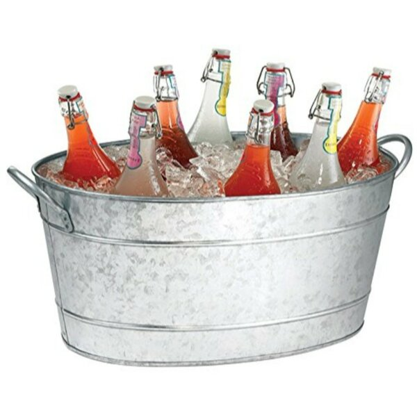 Cawley Galvanized Beverage Tub by Gracie Oaks