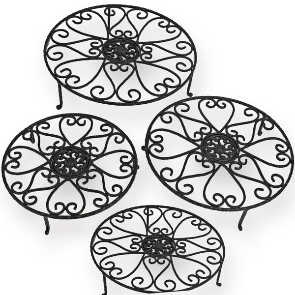 Heart 4 Piece Plant Stand Set by Red Carpet Studios LTD| @ $53.99