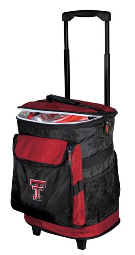 Collegiate Rolling Cooler - Texas Tech by Logo Brands