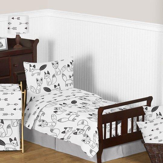 Fox 5 Piece Toddler Bedding Set by Sweet Jojo Designs