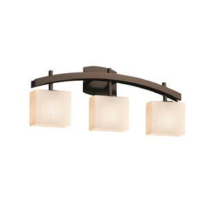 Compare prices Luzerne 3-Light Vanity Light By Brayden Studio
