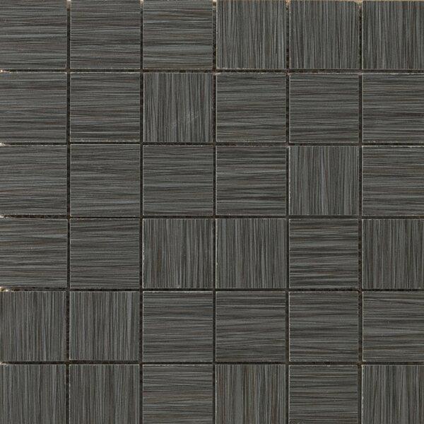 Strands 2 x 2/12 x 12 Porcelain Mosaic Tile in Twilight by Emser Tile