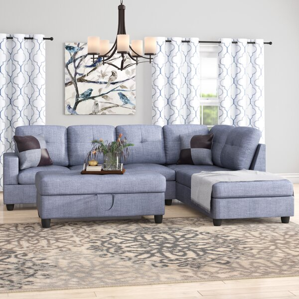 Northstate Sectional With Ottoman By Winston Porter