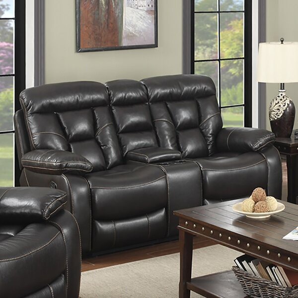 Hot Sale Haug Reclining Loveseat by Winston Porter by Winston Porter