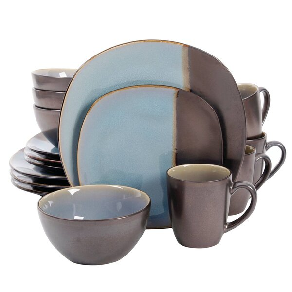 Dwaine 16 Piece Dinnerware Set, Service for 4 by Winston Porter