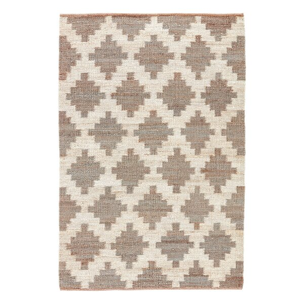 Aldred Lake Hand-Woven Grey Area Rug by Langley Street