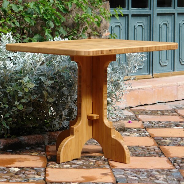 Burliegh Teak Side Table by Loon Peak