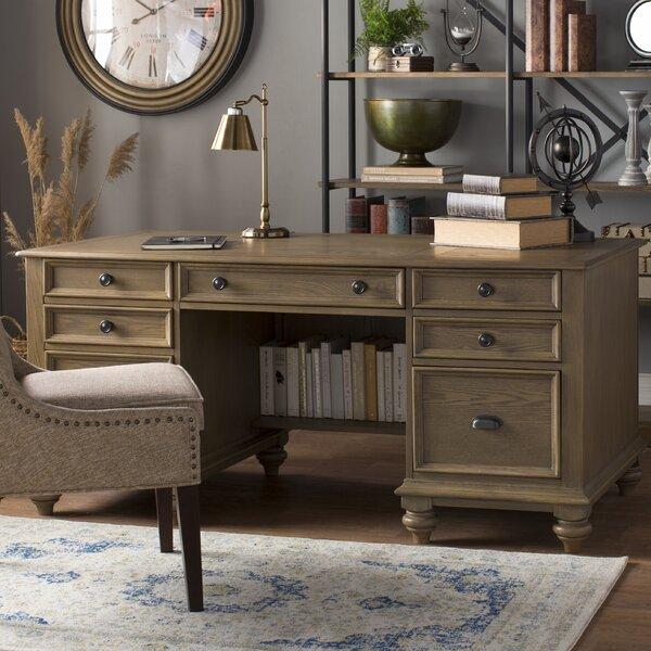 Quevillon Executive Desk by Lark Manor