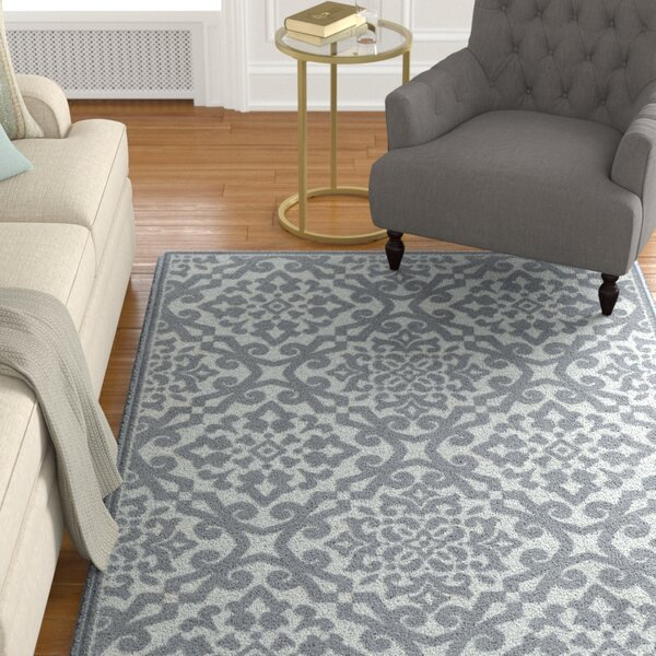 Farrel Gray Indoor/Outdoor Area Rug by Charlton Home