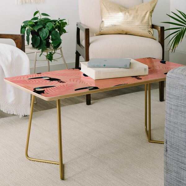 Channeling Paradise Coffee Table By East Urban Home