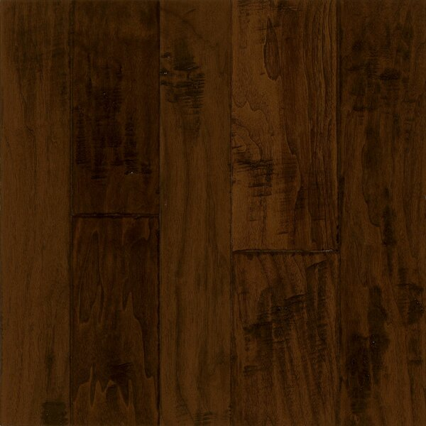 Artesian Random Width Engineered Walnut Hardwood Flooring in Black Chocolate by Armstrong Flooring