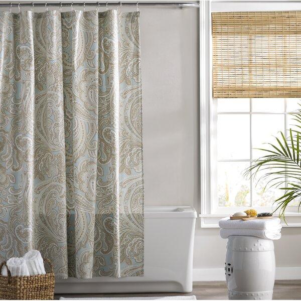 Berner Cotton Shower Curtain by Three Posts