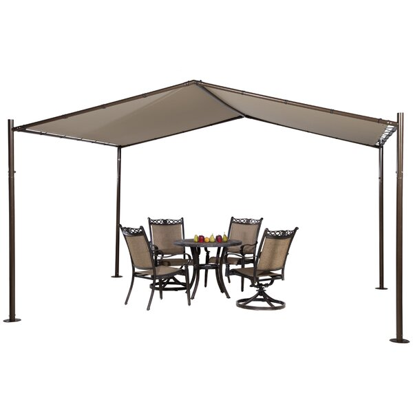 13 Ft. W x 11.5 Ft. D Steel Pop-Up Canopy by Abba Patio