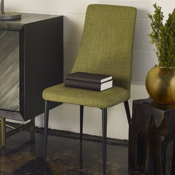 Caelum Upholstered Dining Chair (Set of 2) by Brayden Studio