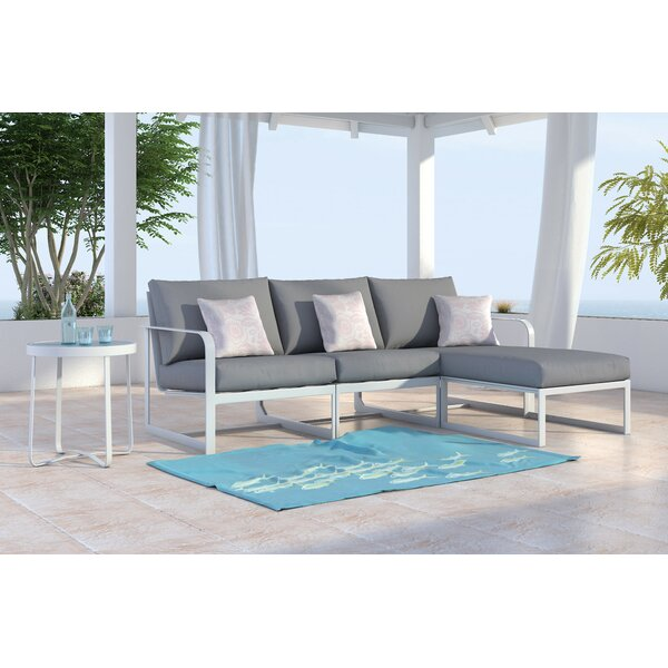 Mirabelle Patio Sectional with Cushions by Elle Decor Elle Decor