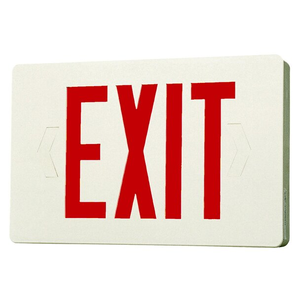 Led Exit Sign Light By Royal Pacific.