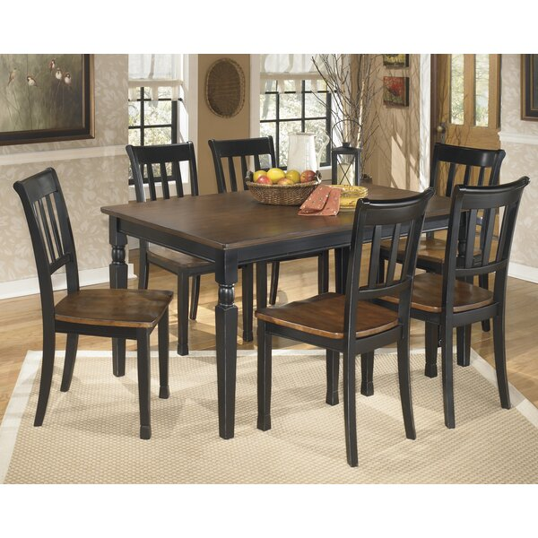 Carrol 7 Piece Dining Set by Winston Porter