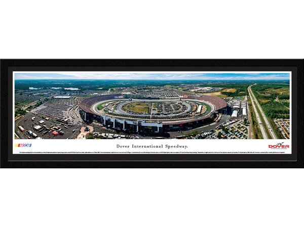 NASCAR Dover International Speedway by Christopher Gjevre Framed Photographic Print by Blakeway Worldwide Panoramas, Inc