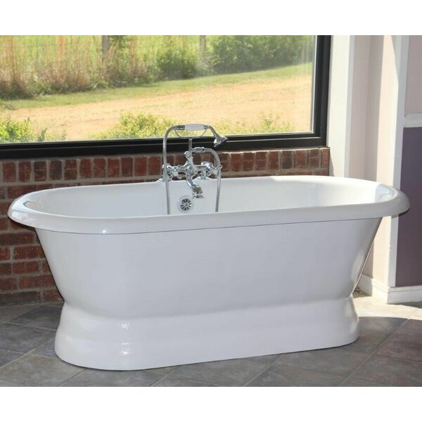 Majesty 66 x 30 Freestanding Bathtub by Restoria Bathtub Company