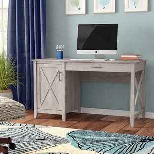 Buy clear Oridatown Single Pedestal Computer Desk By Beachcrest Home
