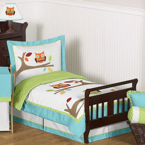 Hooty 5 Piece Toddler Bedding Set by Sweet Jojo Designs