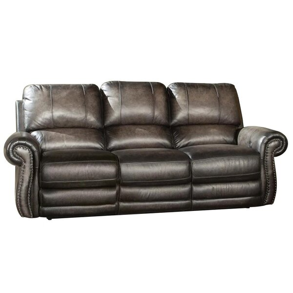 Leyt Reclining 89-inch Rolled Arms Sofa by Canora Grey Canora Grey