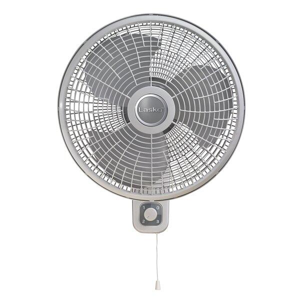 16 Oscillating Wall-Mount Fan by Lasko