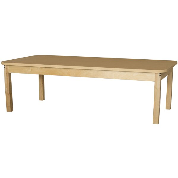 72 x 30 Rectangular Activity Table by Wood Designs