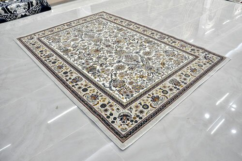 Cream Area Rug by Rug Tycoon