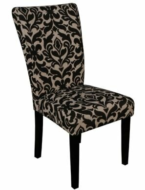 Clyburn Upholstered Dining Chair (Set of 2) by Rosdorf Park