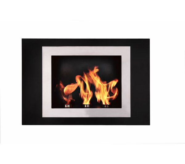 Fiorenzo Wall Mounted Ethanol Fireplace By BioFlame