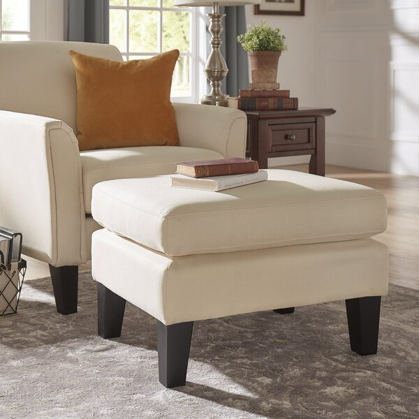 Crumpton Armchair and Ottoman by Three Posts