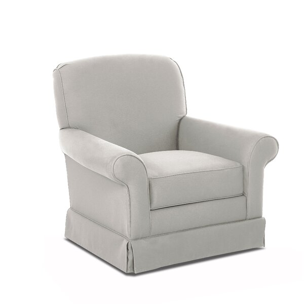 Triton Swivel Glider by Wayfair Custom Upholstery™