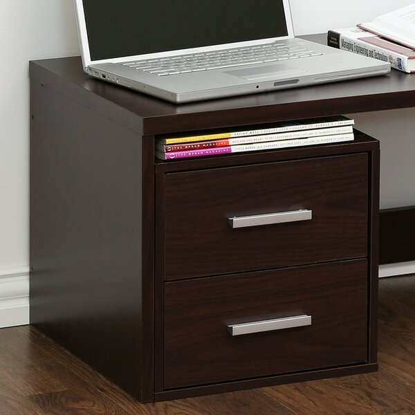 Adah 2 Drawer Lateral Filing Cabinets by Ebern Designs
